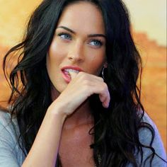 Megan Fox. The visual inspiration for the heroine in The Daughter of River Valley
