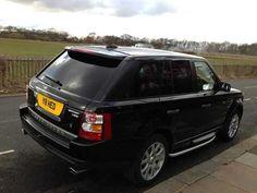 2007 Range Rover Sport 2.7 TDV6 HSE 5-door auto. estate in black.