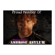 I am a Proud Member of the Ambrose Asylum