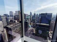 What a great view from this #vacation #rental in #Midtown #Manhattan! http://www.nyhabitat.com/new-york-apartment/vacation/16094