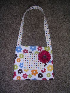 Therapeutic Crafting: Little Girls Shoulder Bag tutorial