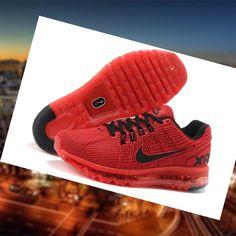 23b9f2a9ae52 En l nea Nike Air Max 2013 Excellerate 2 Zapatillas De Deporte Hombre Rojo  Negro 8TwHu Precio barato Saldos