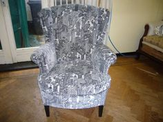 Fauteuil in stof Sin City by Carlucci!
