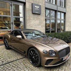 Likes, 10 Comments - Bentley Top Luxury Cars, Luxury Sports Cars, Sport Cars, Bentley Motors, Bentley Continental Cabrio, Porsche, Audi, New Bentley, Auto Retro