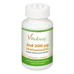 Iodine 200 µg - of potassium iodide - 250 capsules has been published at http://www.discounted-vitamins-minerals-supplements.info/2012/05/27/iodine-200-%c2%b5g-of-potassium-iodide-250-capsules/