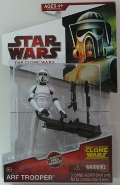 "ARF Trooper - Star Wars - The Clone Wars. ""Yum, I like his big gun..."" 