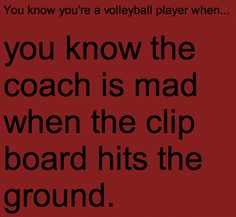 this made me think of you for both volleyball and basketball! oh good times! Volleyball Jokes, Volleyball Problems, Volleyball Workouts, Basketball Quotes, Volleyball Players, Volleyball Images, Volleyball Motivation, Coaching Volleyball, Girls Basketball