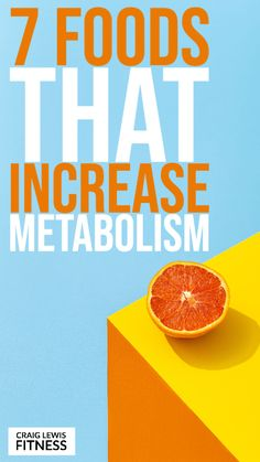 Did you know that there are certain foods that increase metabolism when eaten as part of a balanced approach to healthy eating? Foods That Increase Metabolism, Metabolism Boosting Foods, Slow Metabolism, Healthy Eating Tips, Healthy Foods To Eat, Health Facts, Health Tips, Weight Gain, How To Lose Weight Fast