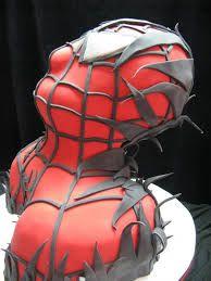 spiderman venom cake - Google Search