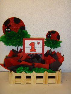 Ladybug Centerpiece Ideas | Ladybug Centerpieces