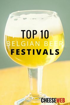 Top 10 Belgian Beer Festivals