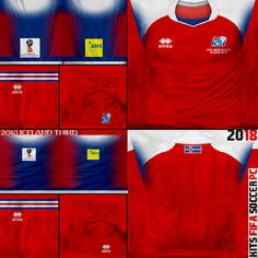 Russia 2018, Kit, Fifa World Cup, Soccer, Facebook, Retro, Youtube, Iceland, Football