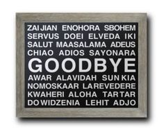 welcome in different languages wall decal | Languages POSTER PRINT Mult iple Different Language Hallway and Wall ...
