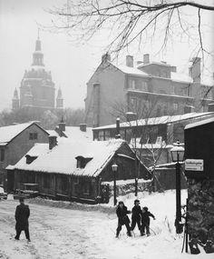 snöbollskrig i Katarina