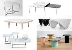 UNIVERS CREATIFS: Tendance Marbre / 2. Mobilier, les tables basses.