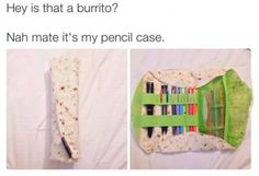 Burrito pencil case ha