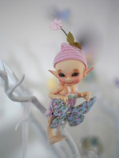 Realpuki Pupu - Such a Pretty Little Fairy by mad about bears and dolls on Flickr.