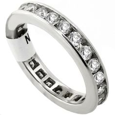 Beautiful eternity ring.