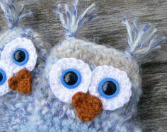 Items similar to Soft Pink Crocheted Double Fan Earrings on Etsy
