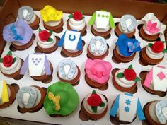 Derby Party Cupcakes! cupcakes by dusty