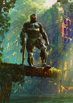 crysis 3. een super coole game