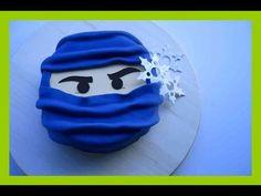 Ninjago Fondant Torten Tutorial - Ninjago Torte - Einfache Ninjago Torte...