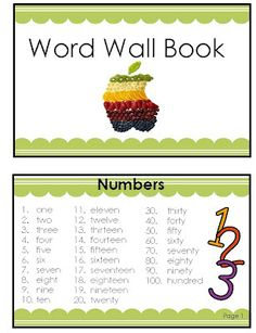 2nd Grade Smarty-Arties               taught by the Groovy Grandma!: Portable Word Wall