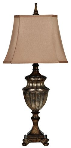 Lamps, Andra Table Lamp, Dining Room Table Sets, Bedroom Furniture, Curio Cabinets and Solid Wood Furniture - Model - Home Gallery Stores Furniture Dining Room Table, Table Lamp, Watts Up, Crestview Collection, Brown Shades, Solid Wood Furniture, Incandescent Bulbs, Consumer Products, Night Light