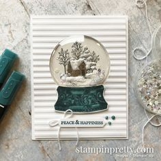 Still Scenes Bundle from Stampin\' Up! Card by Mary Fish, Stampin\' Pretty