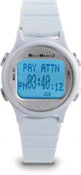 PRODUCT: The Watchminder - for ADD, autism, behavior modification, bedwetting, rehabilitation, medication remidners and hard of hearing.