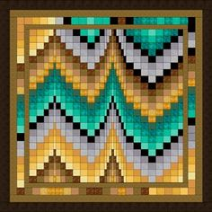 Plum Creek Bargello Quilt