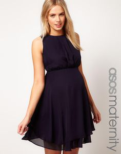 Asos Maternity Dress With Double Layer by ASOS