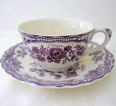 Tea cup. I love hot tea. Reminds me of my grandmother :)