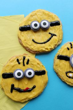 Minion Sugar Cookies - A Spark of Creativity