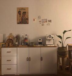 Cafe Interior, Interior Design, Dream Apartment, Liquor Cabinet, Sweet Home, Room Decor, Living Room, House, Inspiration
