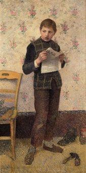 Le groom, 1890, Henri Delavallée
