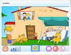 """Mi familia"" (Medio Social de Educación Infantil) San Jose, Family Guy, Learning, Fictional Characters, House, Socialism, Home, Science Area, Interactive Activities"