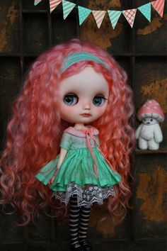 Middie Blythe Pink Mohair