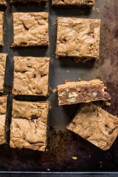 Brown Butter Pecan Blondies | NeighborFood
