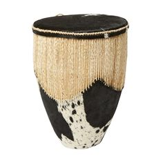 Why not let this #cowhide #drumfrom #Uganda cymbalize your #personality. For more information on #TKMaxx's Rwenzori Trading Company #charity range click the image.
