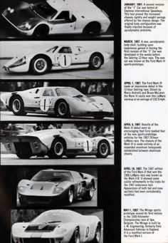 Ford Gt Experimental And Sports Prototype Evolution