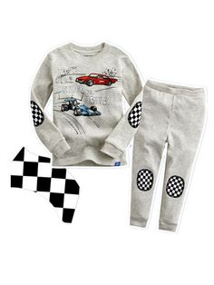 08e5371b1 US $9.9 |CT664 2014 new clothing set cotton boys clothing set 2pcs long  sleeve top+pant car printing free shipping-in Clothing Sets from Mother &  Kids on ...