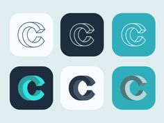 Playing around with an impossible C for the logo of Carbon Health