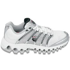 d2d6b4839fb8 K-Swiss Tube Run 100 Shoes (White Silver Black) - Women s Shoes - 9.0 M