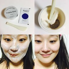 Korean skincare routine | | Recommended Korean skincare products | I decided to try the innisfree topping mask tonight. You can choose between clay base or cream base; I used cream, and for my topping I opted for Blueberry! I really like these as you can pick from a wide range of ingredients to tailor the mask to your skin type 😊