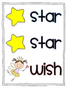 Teaching with Love and Laughter: Free Star, Star, Wish Poster and Tips About Kindergarten Writer's Workshop