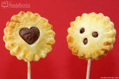 Pie Pops de Nutella