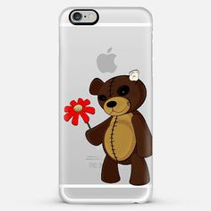 Sweet Teddy - Transparent iPhone case by Nicklas Gustafsson #iphone #case #iphonecase #iphone6 #transparent #casetify @casetify #sweet #teddy #girly