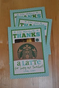 Cute card DIY for thank yous and recognition - great for volunteer appreciation