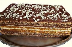 Romanian Desserts, Romanian Food, Romanian Recipes, Craving Sweets, Cake Recipes, Dessert Recipes, Eclair, Pastry Cake, Food Cakes